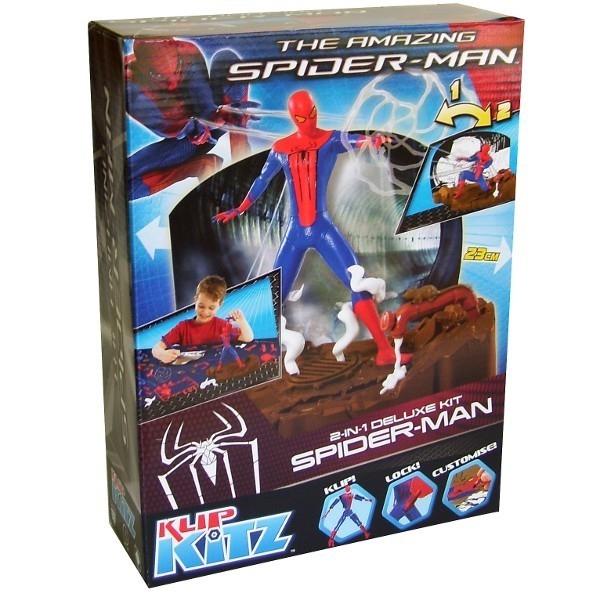 KLIP KITZ Spiderman Figurka 2w1 Deluxe