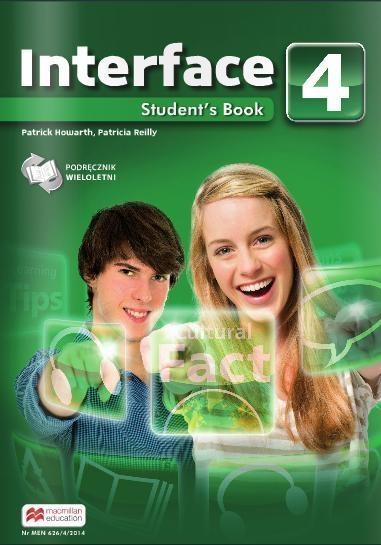 Interface 4 Podręcznik wieloletni Howarth Patrick, Reilly Patricia