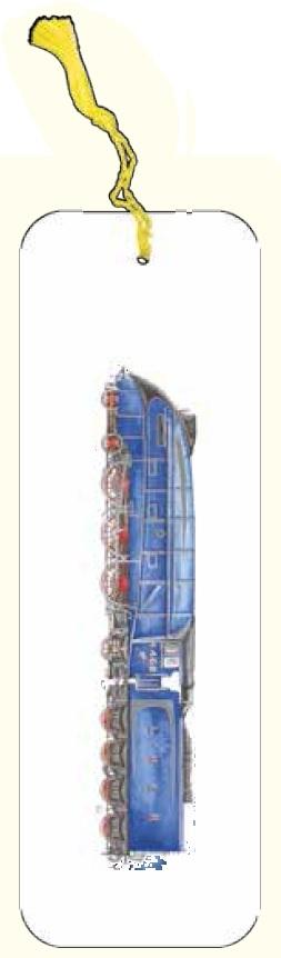 Zakładka do książki pociąg niebieski G07 41A 206