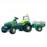 SMOBY Traktor TGM z przyczepą zielony (760033406)