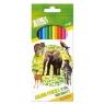 Kredki ołówkowe 12 kolorów Animal Planet