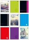 Blok biurowy A4, 100 kartek, linia (112484) mix wzorów