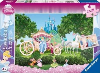 Puzzle 2x20 Księżniczki RAP090068