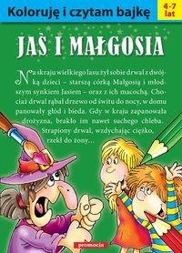 Koloruję i czytam bajkę - Jaś i Małgosia