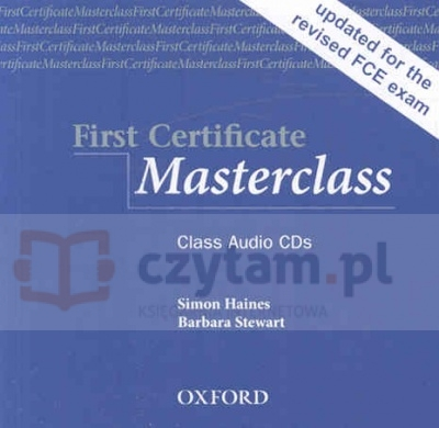FC Masterclass CD Class 08 Simon Haines