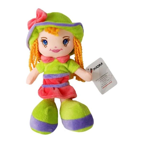 AXIOM Lalka Karolina w kapeluszu zielona (4584)