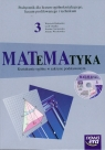 Matematyka 3 Podręcznik z płytą CD Zakres podstawowy Liceum, technikum Babiański Wojciech, Chańko Lech, Czarnowska Joanna