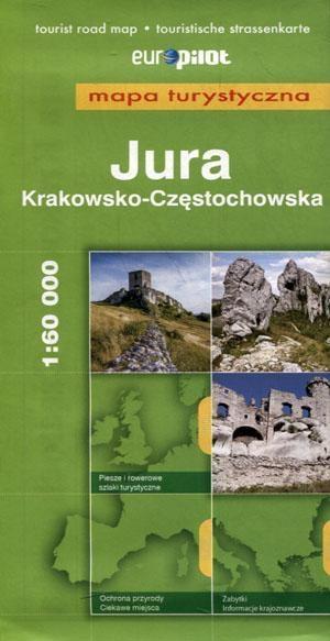 Mapa Turystyczna EuroPilot. Jura Krk-Częst. br praca zbiorowa