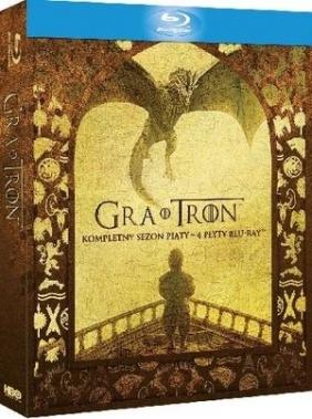 Gra o Tron. Sezon 5 (4 Blu-ray)