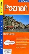 Poznań - plan miasta 1: 20 000 praca zbiorowa