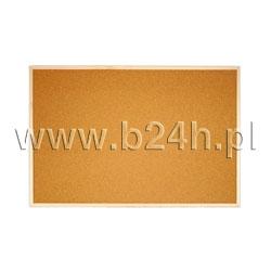 Tablica korkowa Memoboards w ramie drewnianej 500x1000 (TC105 MB)