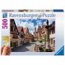 Ravensburger, Puzzle 500: Rothenburg (z ułatwieniem dla seniorów) (136070)
