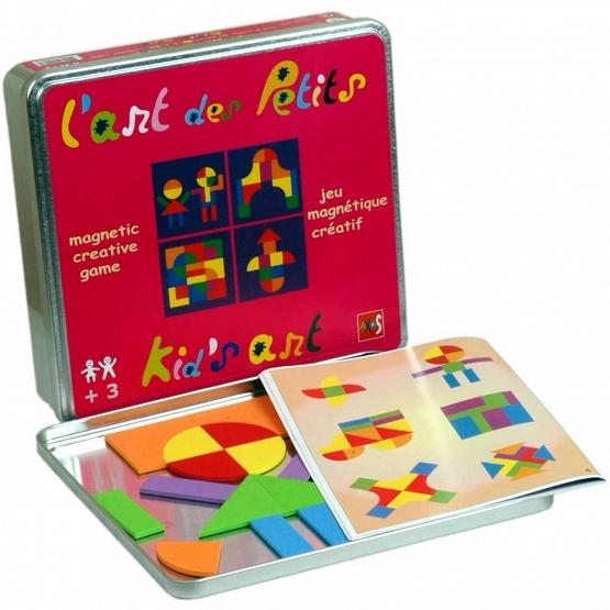 Układanka magnetyczna. Zestaw Sztuka dla maluchów - sztuka w zabawie  (JART5007)