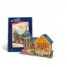 Puzzle 3D: Domki świata - Wielka Brytania, Villa (306-23107)