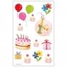 Naklejki A ozdobne Urodziny I