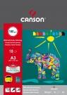 Blok techniczny papier kolorowy Cans A3/10ark.160/180g (400075230)