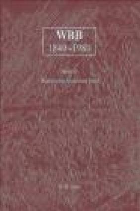 WBB 1840-1980 Band 11