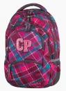 Plecak młodzieżowy CoolPack College Cranberry Check 27L