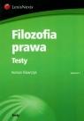 Filozofia prawa Testy Tokarczyk Roman
