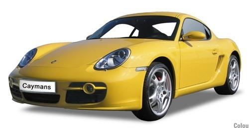 Porsche Cayman (yellow)