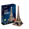 Puzzle 3D LED Eiffel Tower (L091H)