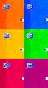 Zeszyt A5 Oxford w szerokie linie 80 kartek Esse mix