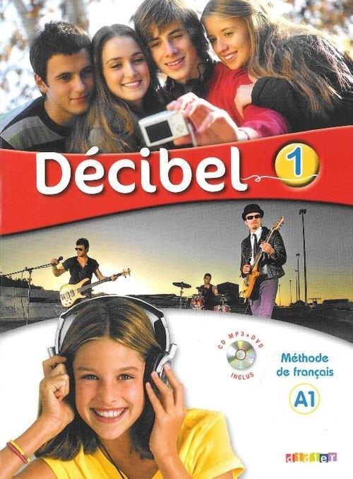 Decibel 1 Podręcznik + CD mp3 + DVD Butzbach M.