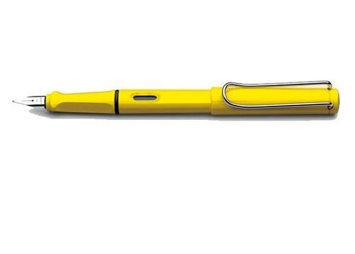 Pióro wieczne Lamy safari żółte 18 F