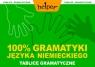 100% gramatyki języka niemieckiego Tablice gramatyczne Białek Aneta