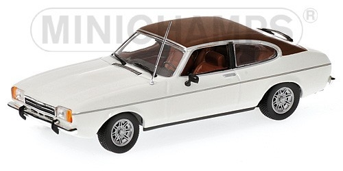 Ford Capri II 1974 (white)