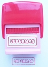 Pieczątka Superman