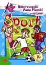 Kolorowanki Pana Plamki z wierszykami Sport