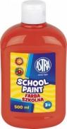 Farba plakatowa czerwona 0,5 L
