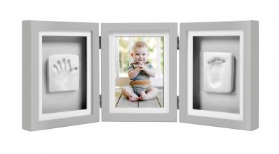 Ramka składana na zdjęcie i odcisk rączki i stópki