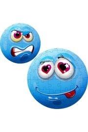 Face Ball niebieska - 96 elementów