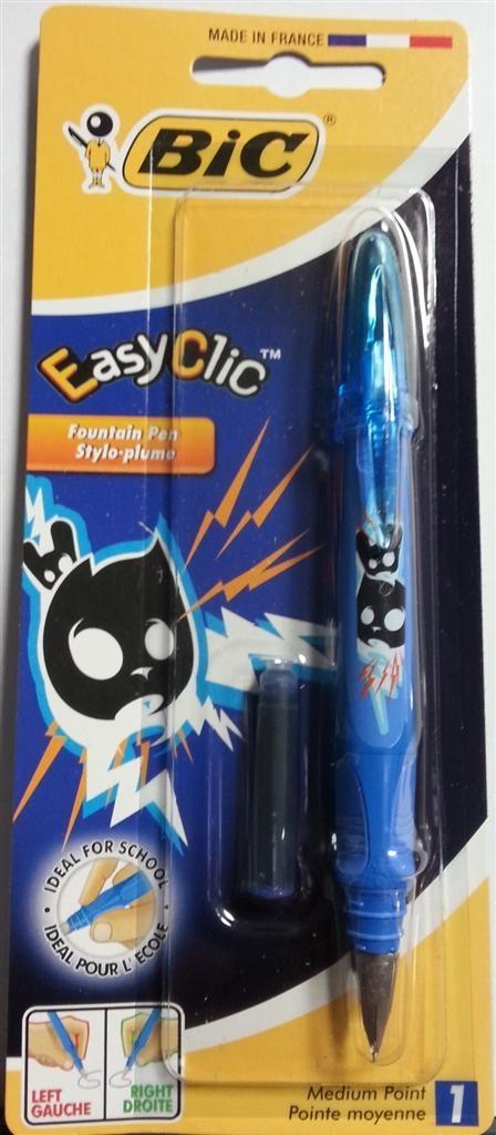 Pióro Easy Clic Comics blister(1szt) BIC