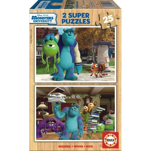 2x25 Monsters University out 2013