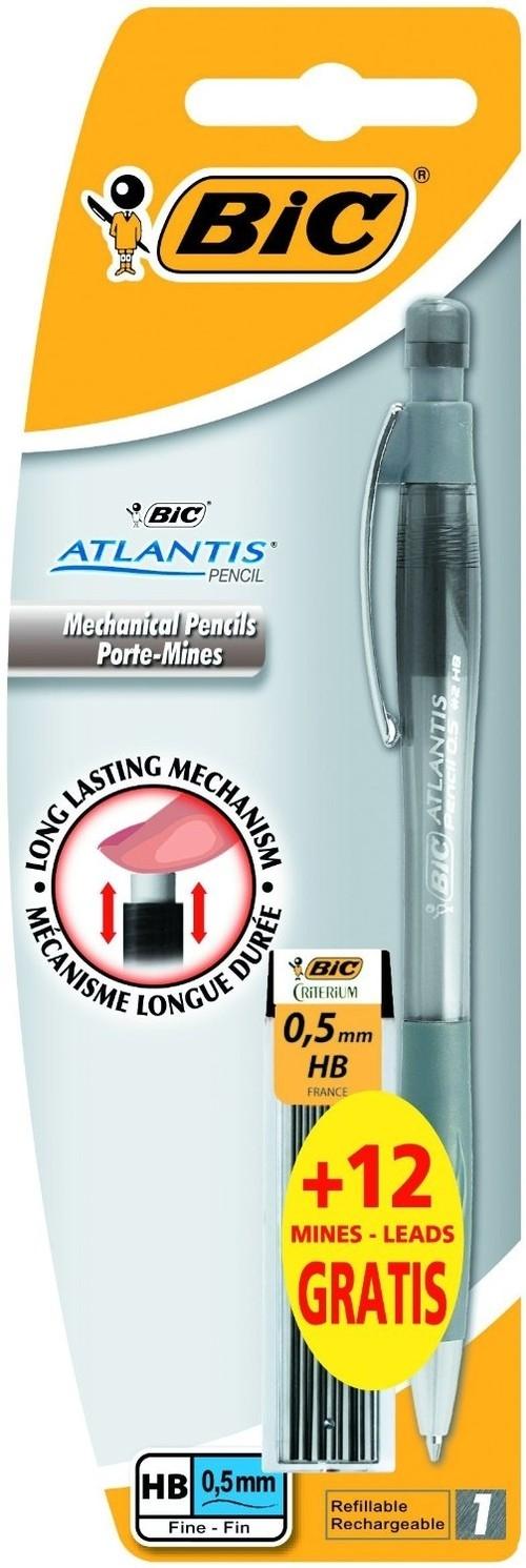 Ołówek Atlantis 0.5 + 12 wkładów