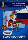 Flagi Europy Naklejam i koloruję