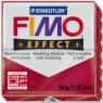 Masa termoutwardzalna Fimo effect czerwona metaliczna (8020-28)