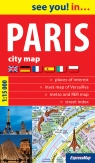 Paris City map 1:15 000