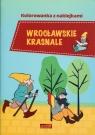 Wrocławskie krasnale. Kolorowanka z naklejkami