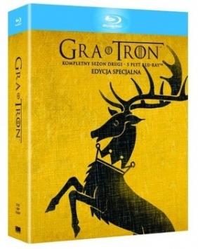 Gra o Tron. Sezon 2 (5 Blu-ray, wydanie specjalne digipack)