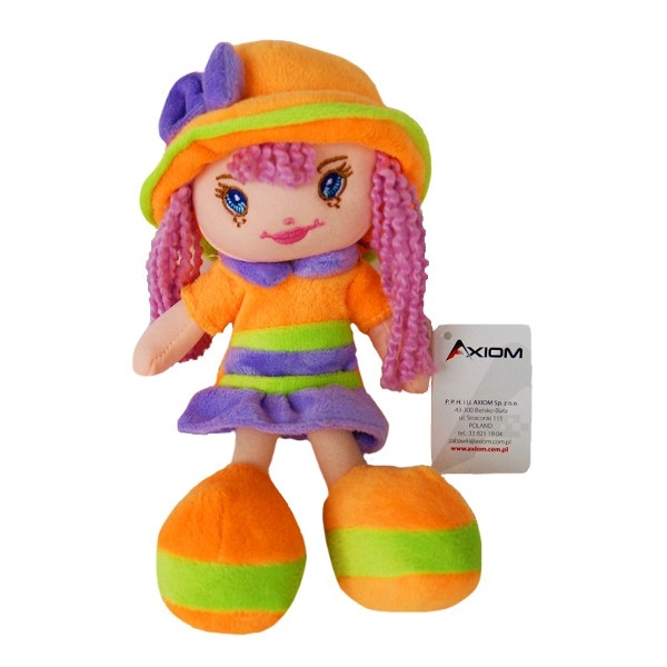 AXIOM Lalka Karolina w kapeluszu pomarań (4584)