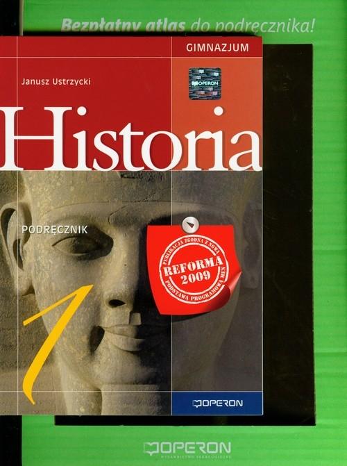 Historia 1 podręcznik z atlasem Ustrzycki Janusz