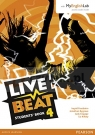 Live Beat GL 4 Student' Book with MyEngLab Pack