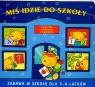 Miś idzie do szkoły Książeczka edukacyjna z naklejkami Myjak Joanna