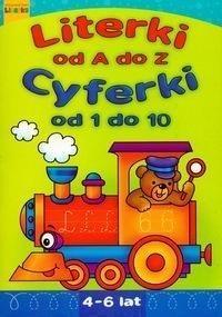 Literki od A do Z Cyferki od 1 do 10 Praca zbiorowa