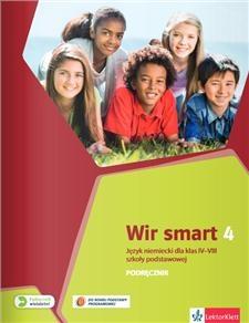 Wir Smart Język niemiecki 4 Podręcznik dla klasy VII z płytą CD Motta Giorgio