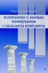 Rozważania o handlu wewnętrznym i obszarach rynkowych Zakrzewski Zbigniew